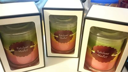 Picture of ASSORTED LAYERED CANDLES