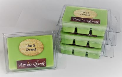 Picture of SOY WAX MELTS - LIME & COCONUT