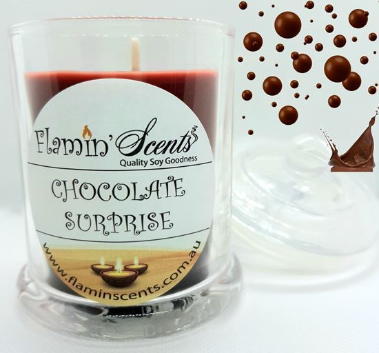 Picture of CHOCOLATE SURPRISE CANDLE