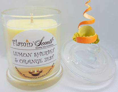 Picture of LEMON SHERBET AND ORANGE ZEST CANDLE