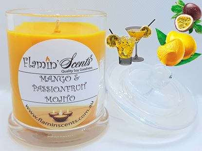 Picture of MANGO AND PASSIONFRUIT MOJITO CANDLE