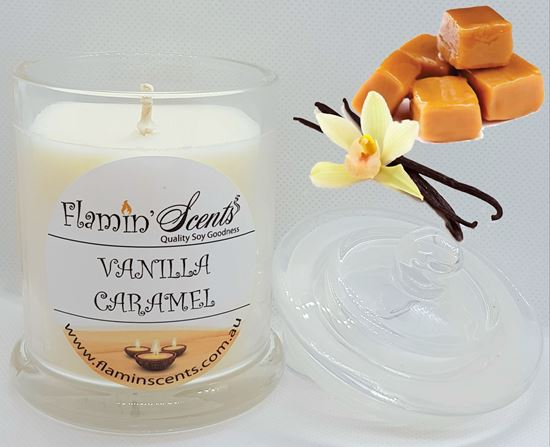 Picture of VANILLA CARAMEL CANDLE