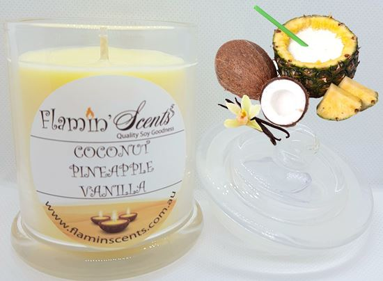 Picture of COCONUT PINEAPPLE VANILLA CANDLE