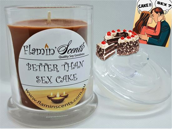 Picture of BETTER THAN SEX CAKE CANDLE