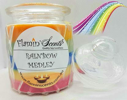 Picture of RAINBOW MEDLEY CANDLE