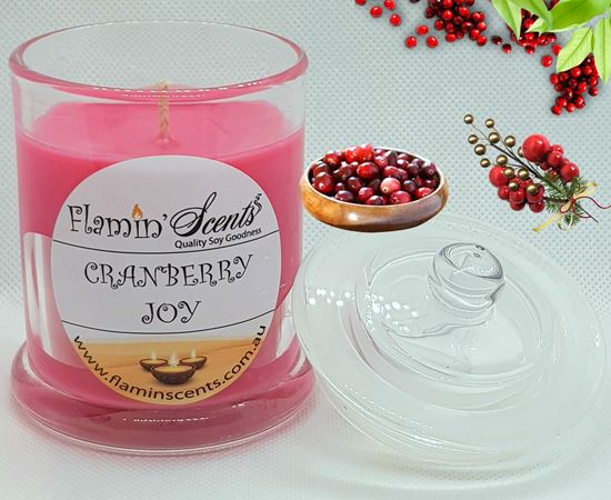 Picture of CRANBERRY JOY CANDLE